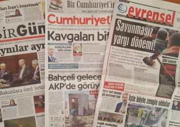 Turkey's independent media: Staying dry at the 'poolside'